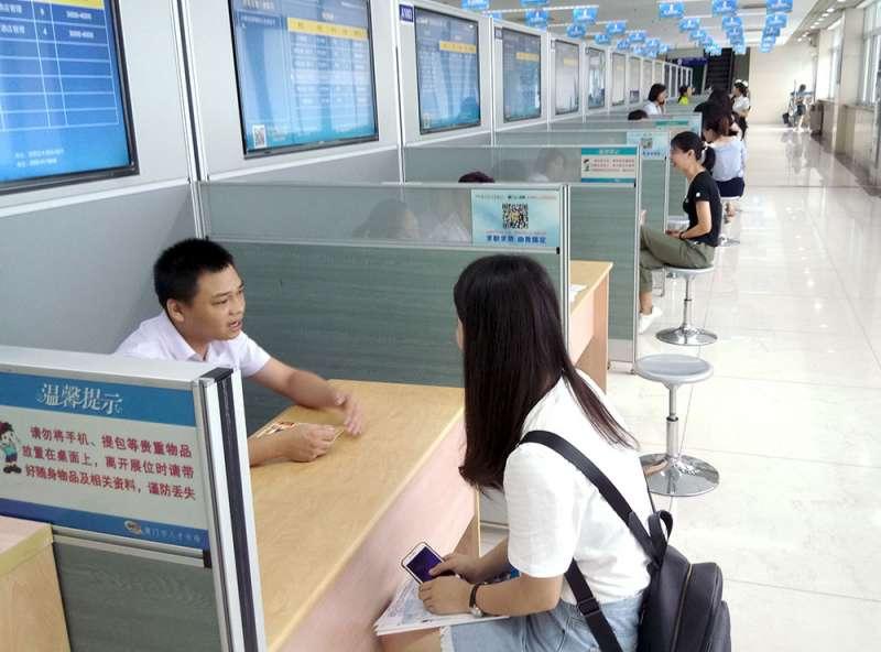 中國惠台深化作為,就業是下個主戰場。(張家豪攝)