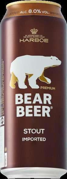 8% STRONG STOUT 德國熊黑麥啤酒,擁有悠久傳統又深厚的黑麥啤酒Stout,與傳統英式黑麥啤酒不同在於:烘培過的麥芽香氣、咖啡和淡淡焦糖味道,以及伴隨著甘草的微香,是一支層次感分明的黑麥啤酒,不加冰塊原味品嚐風味更佳。