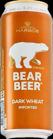 5.4% Bear Beer Dark Wheat德國熊琥珀小麥啤酒是一款典型的巴伐利亞黑啤酒,使用至少51%的小麥麥芽和至少12%濃度的原麥汁經由頂部發酵而成,具有典型的小麥黑啤香氣。