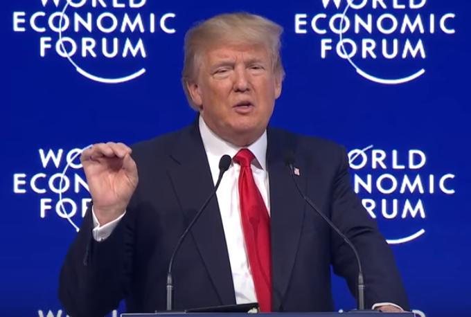 川普 公平貿易(World Economic Forum@Youtube)