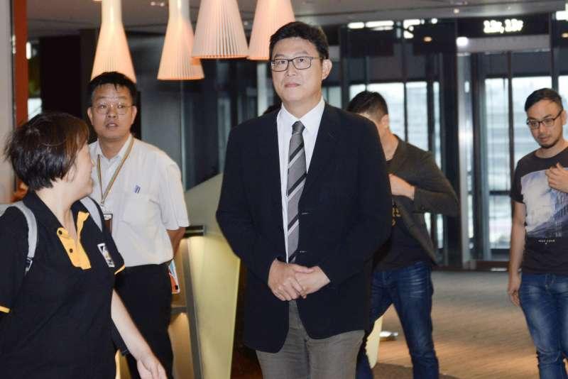 20180629-Nownews十週年茶會,台北市長參選人姚文智出席。(甘岱民攝)