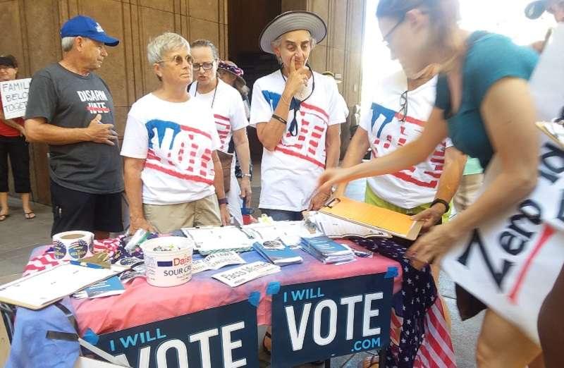 只能用投票做為伸張權利的武器。(夏威夷日報提供)