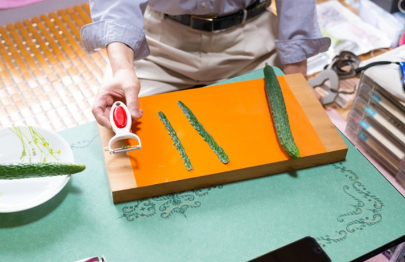 該削皮器銷售額超過 2 億日圓。(圖/智慧機器人網提供)