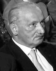 馬丁·海德格(德語:Martin Heidegger,1889年9月26日-1976年5月26日),德國哲學家,被譽為二十世紀最重要的哲學家之一。(Landesarchiv Baden-Württenberg@Wikipedia/CC BY-SA 3.0)