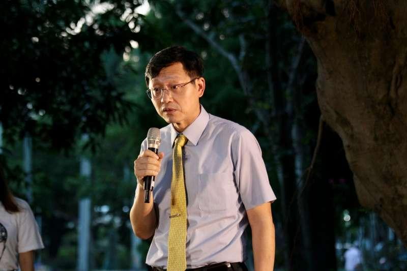 20180702-台大代理校長郭大維出席陳文成紀念晚會。(陳韡誌攝)