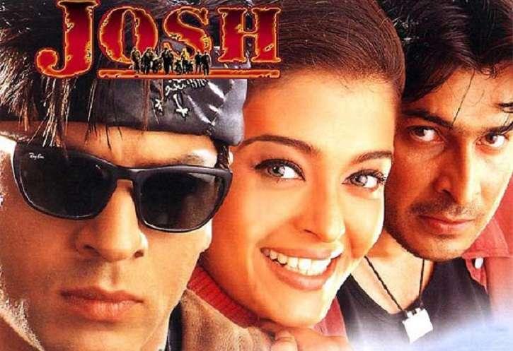 印度寶萊塢電影:《Josh》,由有印度湯姆克魯斯之稱的沙魯克汗(Shah Ruth Khan)和有印度芭比之稱的艾許娃亞雷(Aishwarya Rai Bachchan)主演。(取自網路)