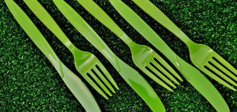 西雅圖成為全美第一個禁止餐飲業使用塑膠餐具與塑膠吸管的大城市(取自Pixabay)
