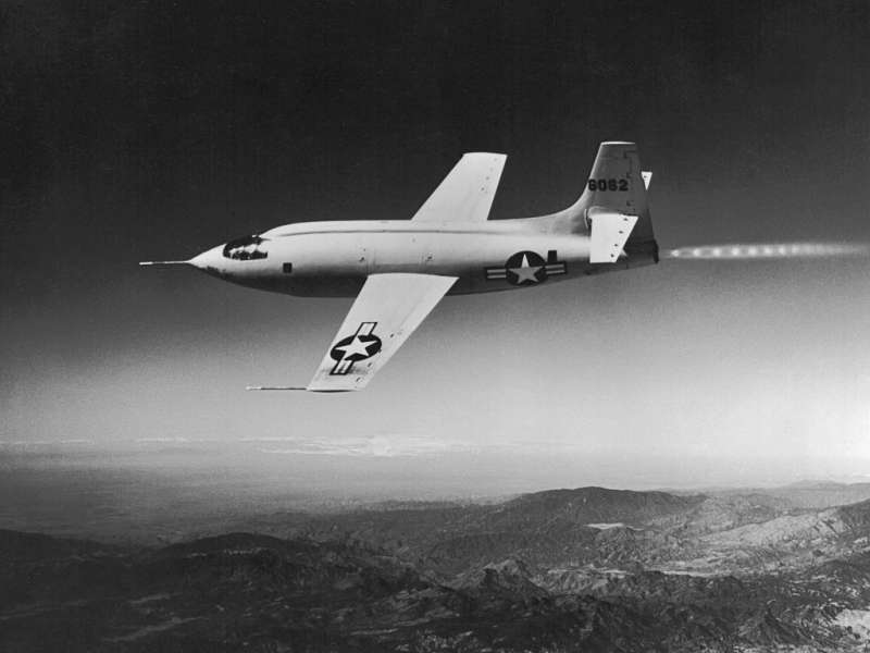 X-1 試驗機。(圖/Wikimedia)