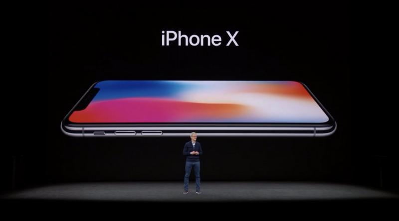 現在很多人都知道了, iPhone X 中的 「X」不是字母 X,而是代表羅馬數字中的 10 ,讀作「ten」,以此來紀念 iPhone 發布十週年。(圖/網路)