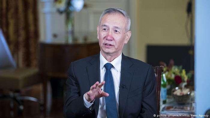 5月17日,任中國副總理的劉鶴再度赴美談判。(德國之聲)