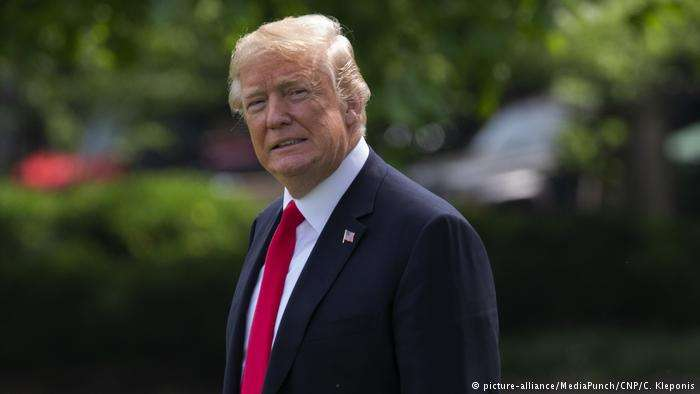 5月29日,白宮宣佈,將在6月15日前公佈對約500億美元中國產品徵收25%關稅的清單。(德國之聲)