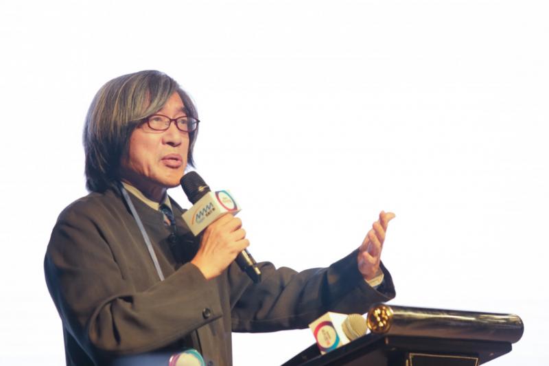 《數位時代》發行人的詹宏志談到:這次積極爭取到『數位創新論壇』的舉辦,就是想讓全世界看到台灣,同時也給國內企業一個向外國專家借鏡的機會。(圖/賀大新攝影,數位時代提供)