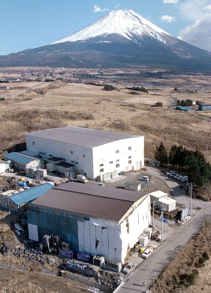 日本邪教「奧姆真理教」位於富士山腳下、山梨縣上九一色村的總部(AP)