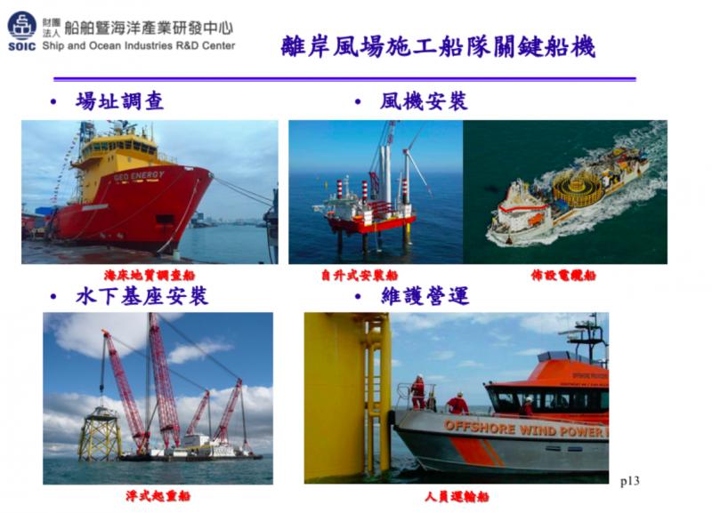 離岸風電的施工船隊使用的船機相當重要,在布設電纜船上,國內業者穩晉港灣投入開發。(圖/取自船舶中心,數位時代提供)