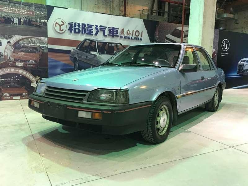 1986年上市的飛羚101成為展覽一大亮點(圖/裕隆汽車提供)