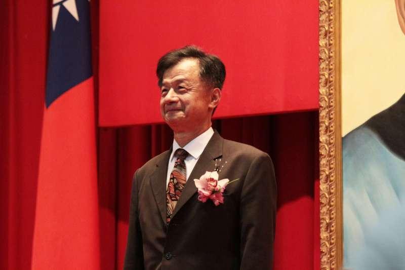 20180709-法務部舉行高階主管及首長交接宣誓典禮,法務部長邱太三出席。(陳韡誌攝)