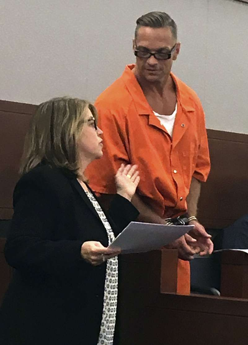 犯下兩起殺人中做的死刑犯多西爾在法庭上表示,他只希望死刑趕快執行,不在乎過程是否痛苦。(美聯社)