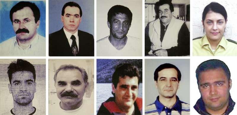 新納粹主義恐怖組織「地下國社」連環殺人案的ˊ死者。(AP)