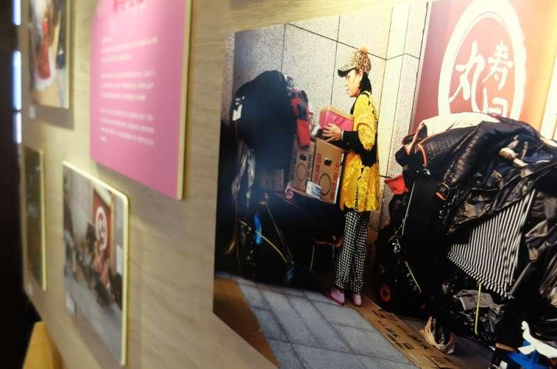 201807-萬華剝皮寮歷史街區「愛睏-我想好好睡覺」特展,關注街友/無家者/遊民睡眠問題(謝孟穎翻攝)