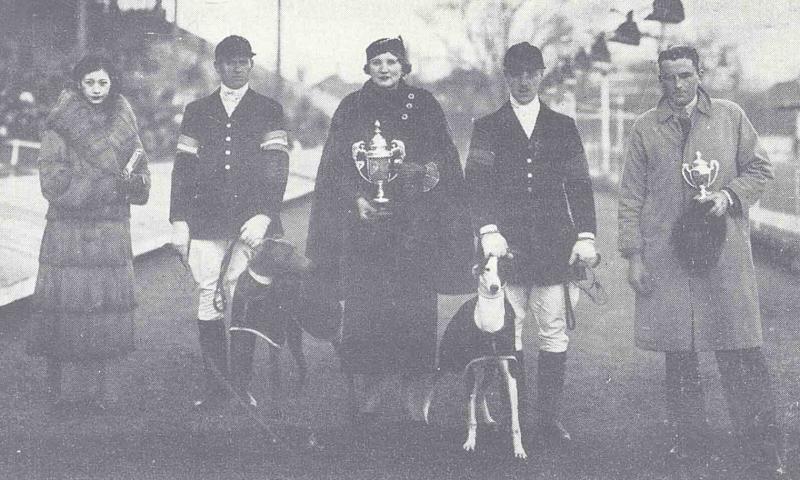 1936 年 1 月跑狗頒獎典禮。(圖/資料來源—上海圖書館《全國報刊索引》資料庫,研之有物提供)