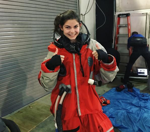 美國17歲少女艾莉莎將在2033年成為首批探索火星的太空人(取自@nasablueberry/Instagrsm)