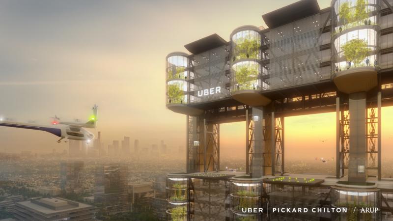 Uber希望打造人人都負擔的起的飛天車服務。(圖/Uber,數位時代提供)