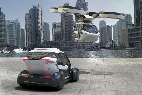 車子就是無人機,無人機就是車子。(圖/數位時代提供)