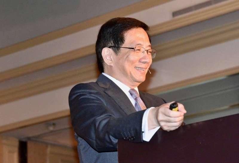 2018年7月21日,台大校長當選人管中閔在南加州台大校友會年會以「台大新價值,台灣新意志」為題發表演講(管中閔臉書)