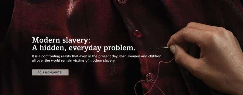 全世界約有4030萬人淪為現代奴隸,其中許多人都受到富有國家與外國企業的剝削。(全球奴役指數網站)