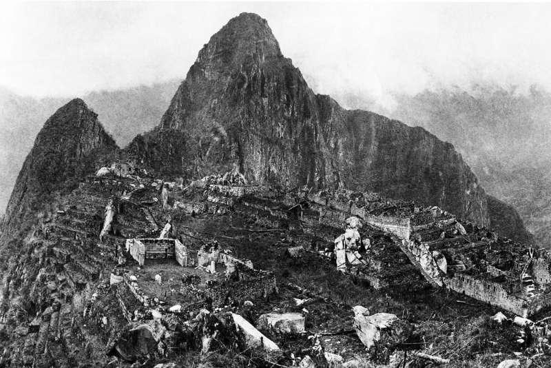 1912年鏡頭下的馬丘比丘(Wikipedia/Public Domain)