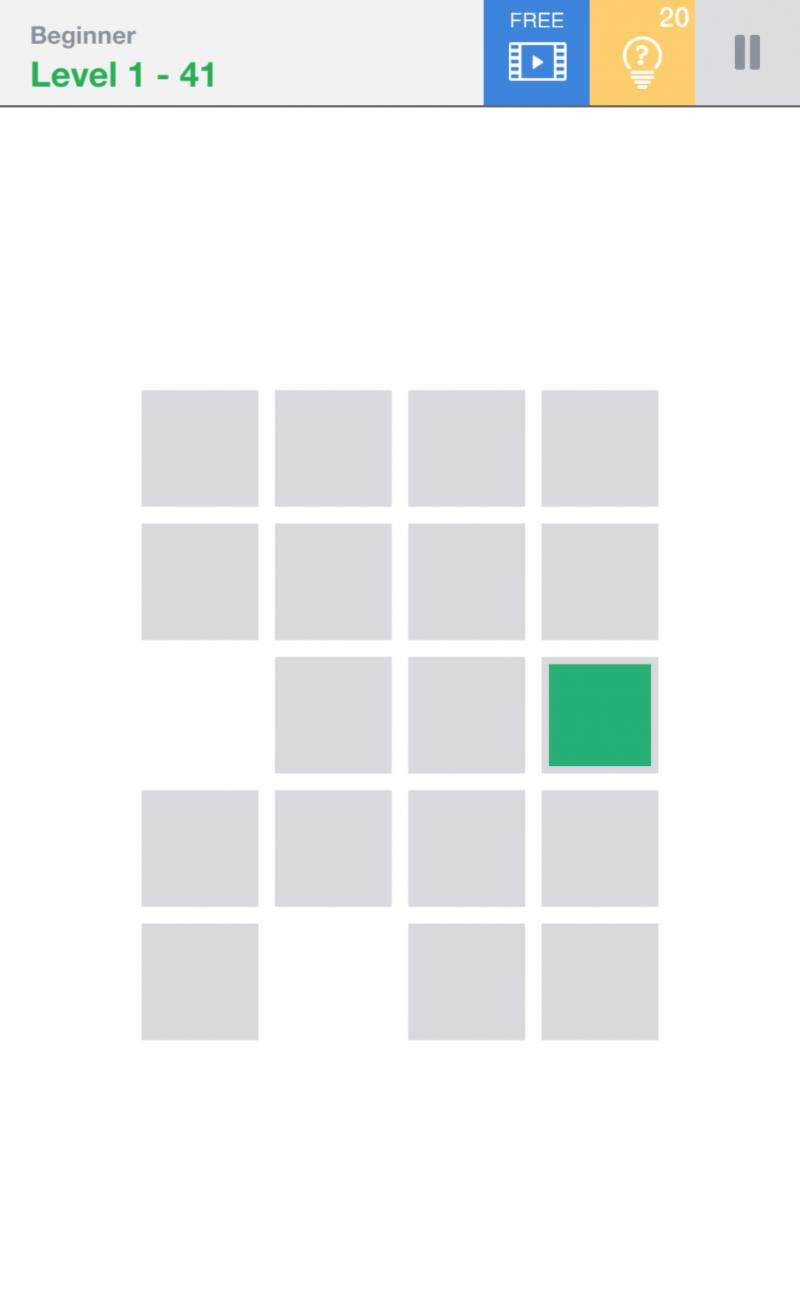 「Fill 益智一筆畫解謎」是一款能鍛鍊腦力的遊戲。(圖/風傳媒)