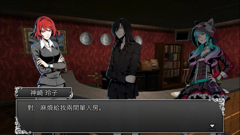 在古董旅店中,玩家必須扮演主角「神崎玲子」與妹妹「神崎沙羅」從一連串的殺人事件中解謎與逃脫,最後抽絲剝繭將犯人找出。(圖/風傳媒)