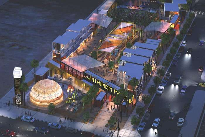 拉斯維加斯因為Zappos的注入,已經成為一個新的「造鎮計畫」。(圖/Breslin Builders,數位時代提供)