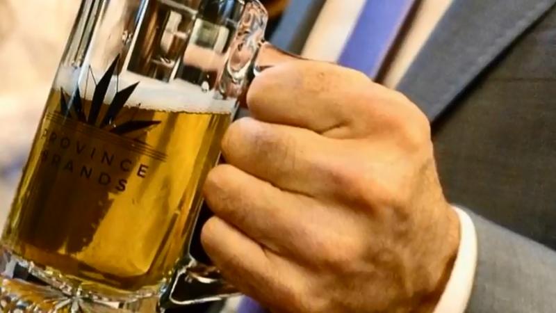 加拿大新創公司「Province Brands」正在研發大麻釀造而成的啤酒(截自YouTube)