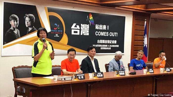 紀政認為,選手們參加第10屆同志運動會,能夠以「台灣隊」之名參賽是很大的突破。她也呼籲,希望2020東京奧運,「中華台北隊」能夠正名為「台灣隊」。 (德國之聲)