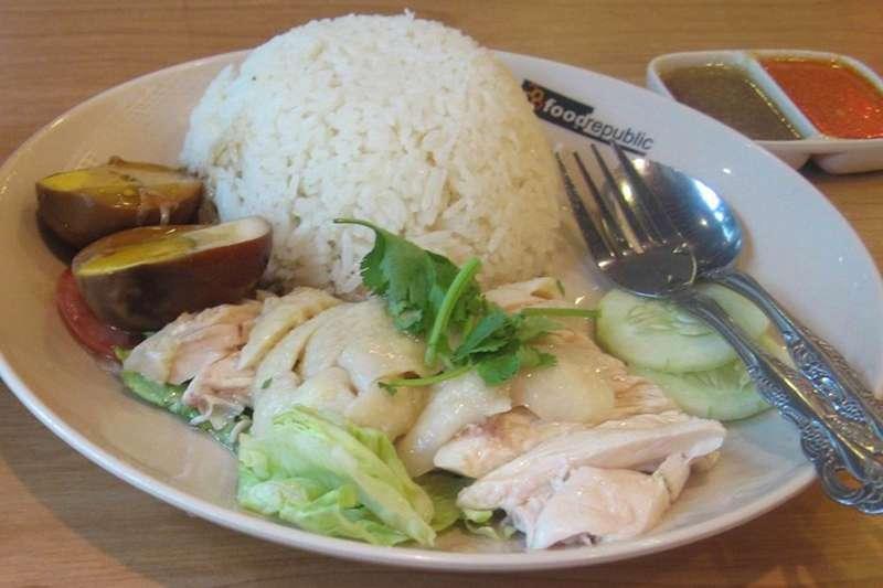 海南雞飯(圖/維基百科)