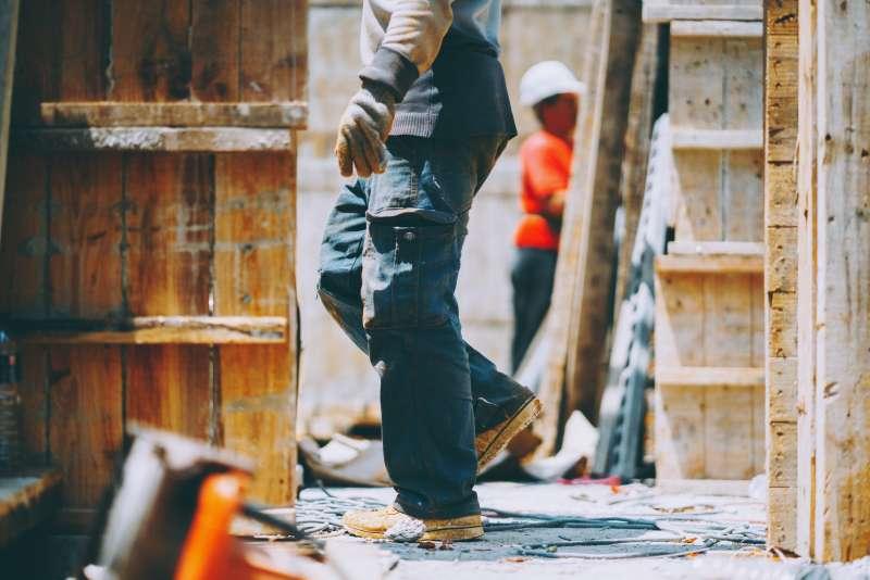 林立青《如此人生》專訪-工人(賴小路攝影;寶瓶文化提供)