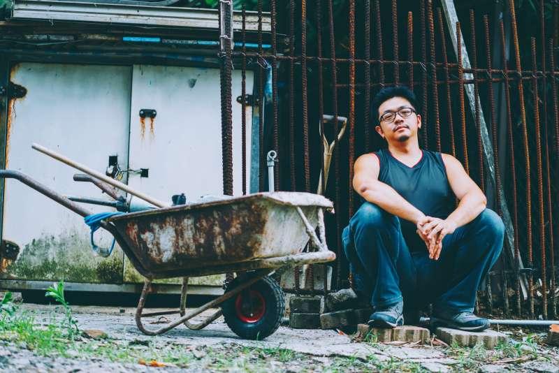 林立青《如此人生》專訪(賴小路攝影;寶瓶文化提供)