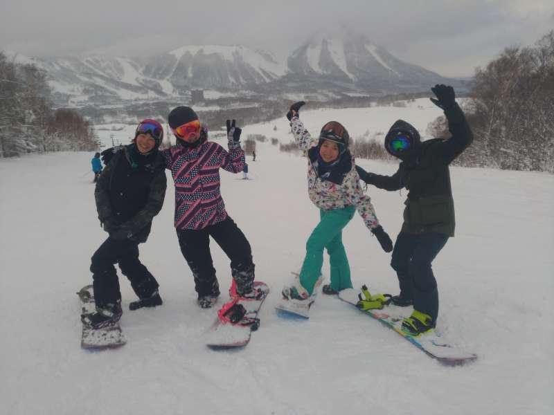 滑雪2。(圖/顏孝真)