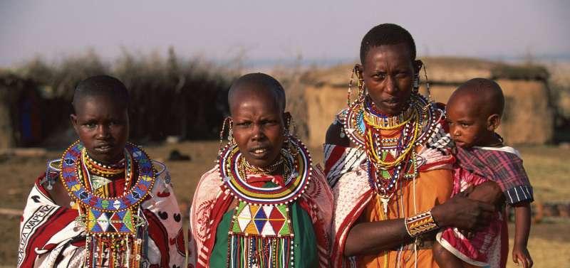 非洲人民示意圖