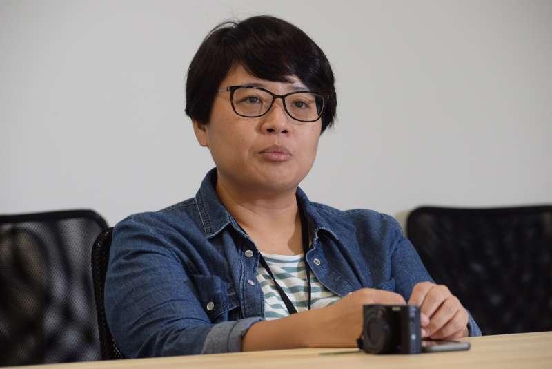 20180727-蘇貞昌辦公室設計團隊專訪,蘇巧純。(甘岱民攝)
