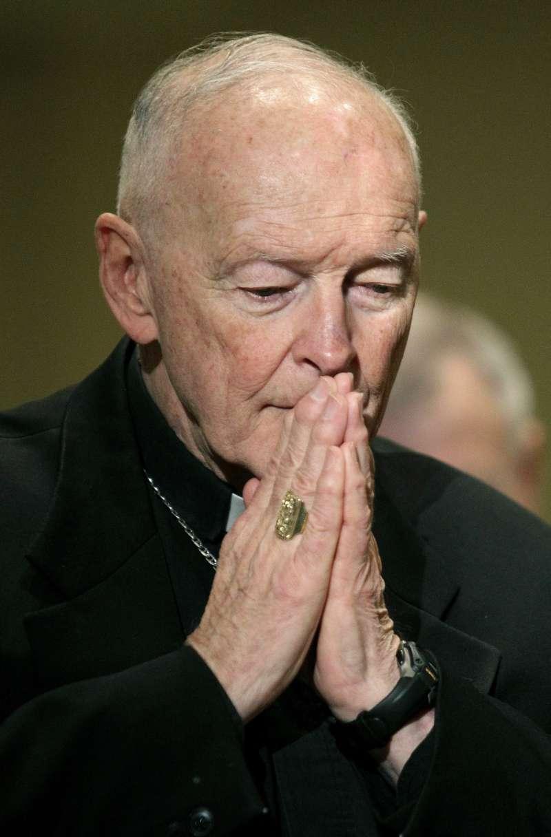 捲入性侵醜聞的美國天主教樞機主教麥卡瑞克(Theodore McCarrick)(AP)
