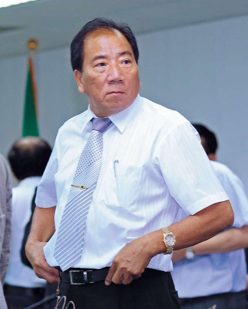 李清福是首位民進黨籍的高雄水利會會長。攝影/林瑞慶