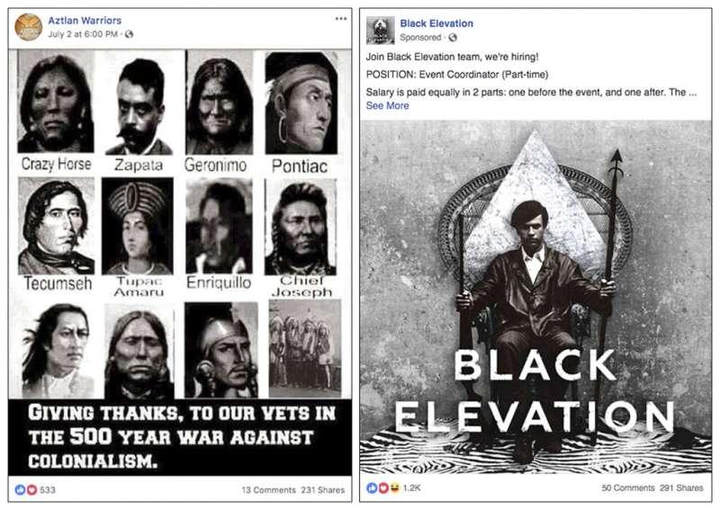 臉書7月31日宣布,刪除32個具有影響美國期中選舉意圖的帳號、專頁,其中有專頁發文討論種族議題。(AP)
