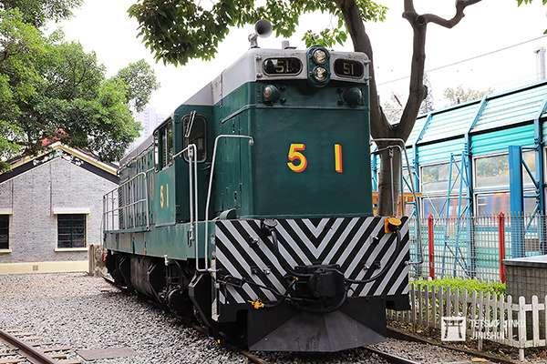 展示於香港鐵路管的亞歷山大爵士號,已恢復為舊塗裝(圖/作者|想想論壇)