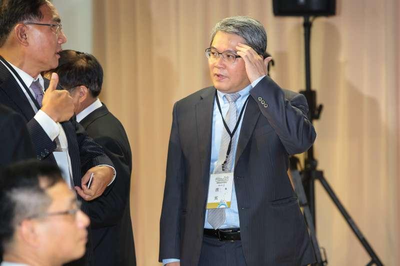 20180802-內政部次長花敬群2日出席住都中心揭牌儀式。(顏麟宇攝)
