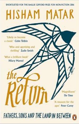 《回歸》(The Return,暫譯)by Hisham Matar(圖/取自博客來網路書店)