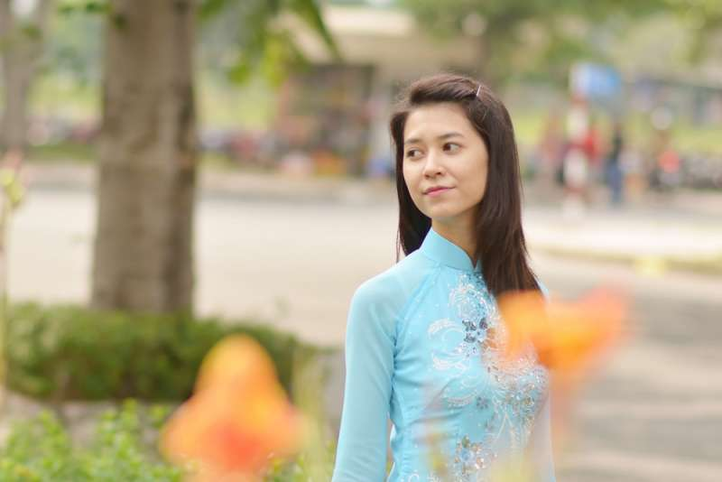 越南女性示意圖(取自Mgzkun@flickr)