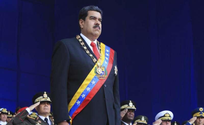 委內瑞拉總統馬杜洛。(美聯社)