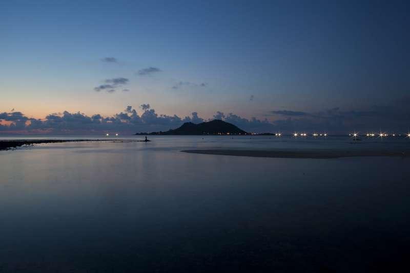 飛揚島夜景(圖/건 강@flickr)